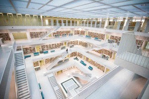 City Library in Stuttgart (Germany)