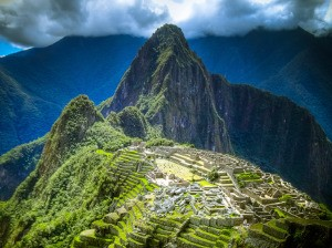 Spanish-German translations: Machu Picchu in Peru (Latin America)